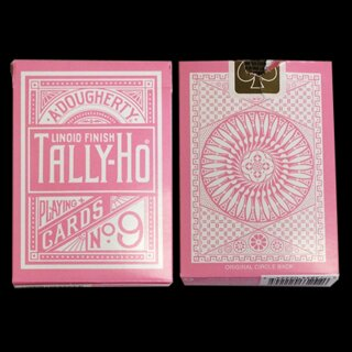Tally Ho Reverse Circle back (Pink) Limited Ed. by Aloy Studios