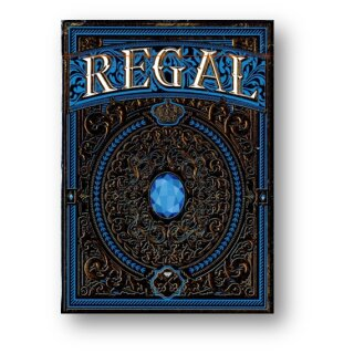 Regal Blue Playing Cards