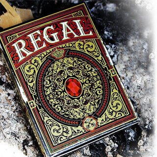Regal Red Playing Cards