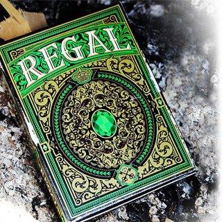 Regal Green Poker Playing Cards