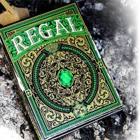 Regal Green Poker Playing Cards