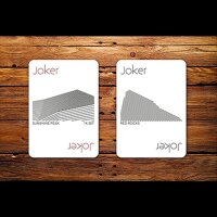 Peak Playing Cards (Night) by USPCC