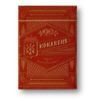 Monarch Red Playing Cards by Theory11 - NEW