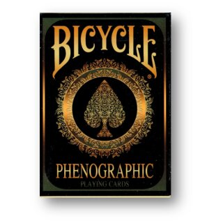 Bicycle Phenographic Playing Cards by Collectable Playing Cards