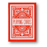 DKNG Red Wheel Playing Cards by Art of Play