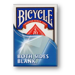 Bicycle Stock - Blank - Blank Gaff Karten