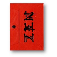 Royal Zen Playing Cards (Red) by Expert Playing Cards