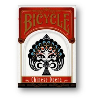 Bicycle Chinese Opera Playing Cards