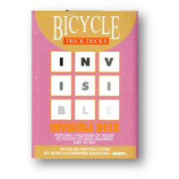 Invisible Deck Bicycle Mandolin (Blue)