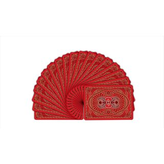 Bicycle Scarab (Red) Playing Cards