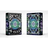 Bicycle A Glo Playing Cards (Blue)