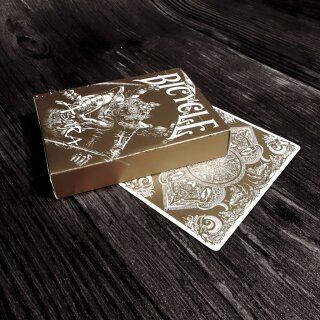 Asura Gold Bicycle Deck by Card Experiment