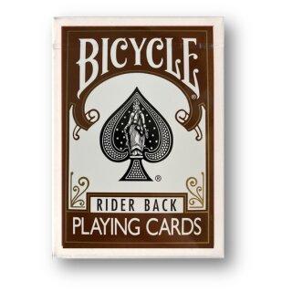 Bicycle Brown Back Poker Deck