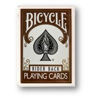 Bicycle Brown Back Poker Deck