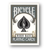 Bicycle Grey Poker Deck