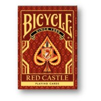 Bicycle Red Castle Playing Cards by Collectable Playing...
