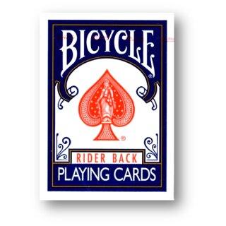 Bicycle - Poker Deck - 807 Rider back Blau