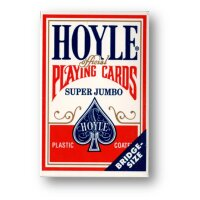 Hoyle - Super Jumbo Red back - Printed in Cincinnati, Ohio