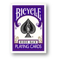 Bicycle - Poker Rider - Violet back