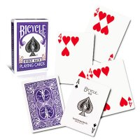 Bicycle - Poker Rider - Violet back