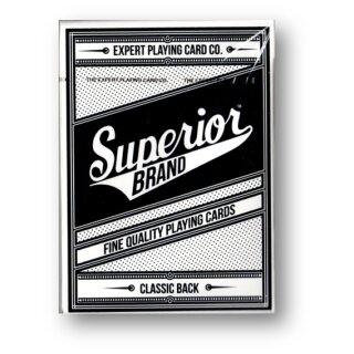 Superior (Black) Playing Cards