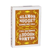 Glamor Nugget Limited Edition Playing Cards (Brown)