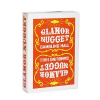 Glamor Nugget Limited Edition Playing Cards (Orange)