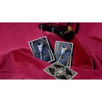 Ornate Obsidian Shadow Playing Cards