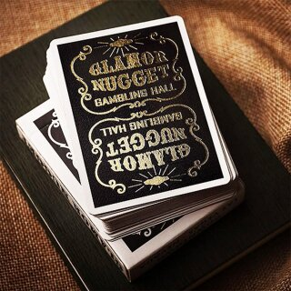 Green Poker Spielkarten RARE Glamor Nugget Limited Edition Playing Cards