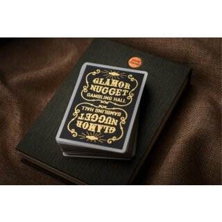 Glamor Nugget Limited Edition Playing Cards (GOLD) RARE