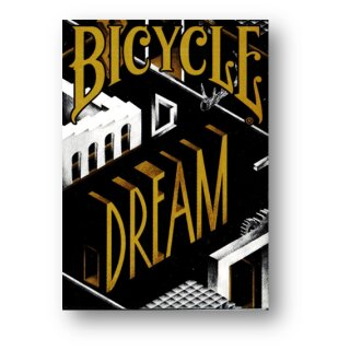 Bicycle - Dream - Black Gold Edition Playing Cards