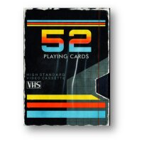 VHS Playing Cards by Collectable Playing Cards