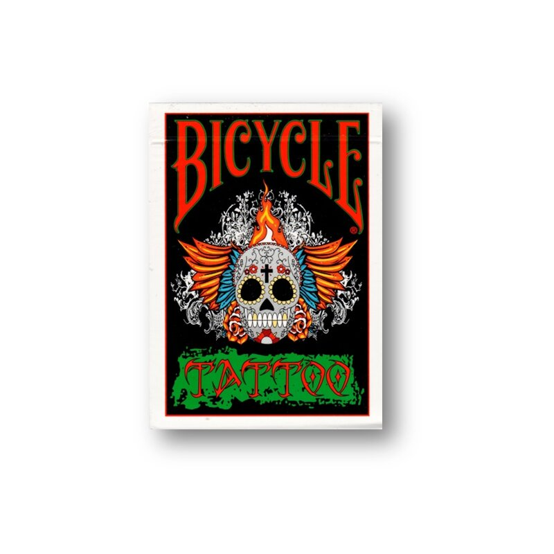 Bicycle tattoo deck 11 99 for Bicycle club tattoo deck