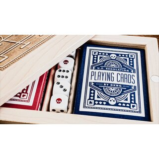 DKNG Playing Cards - Blue Wheel