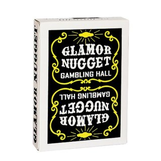Glamor Nugget Limited Edition Playing Cards (Black)