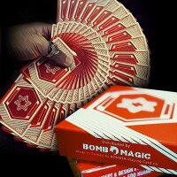 Vigor Playing Cards by Bombmagic - Red Edition