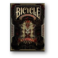 Bicycle - Mystique Red Playing cards