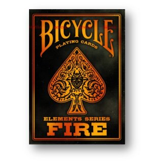 Bicycle Fire Deck Poker Playing Cards