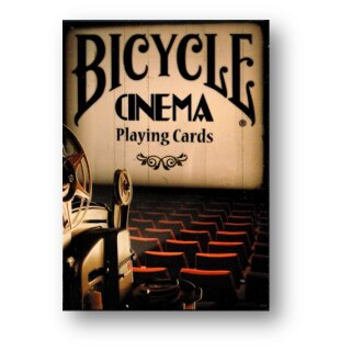 Bicycle Cinema Playing Cards