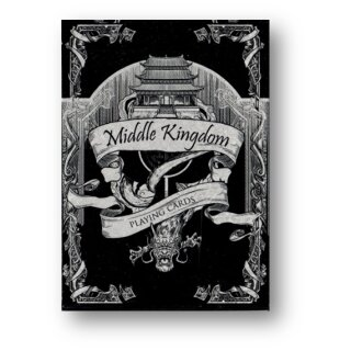 Middle Kingdom (Silver) Playing Cards Printed by US Playing Card Co