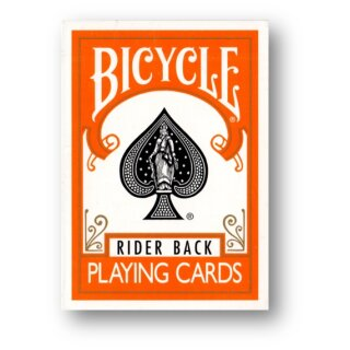 Bicycle Orange Rider Back Poker Spielkarten Deck