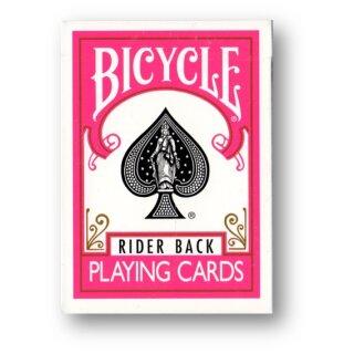 Bicycle Fuchsia Rider Back Deck