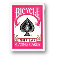 Bicycle Fuchsia Rider Back Deck