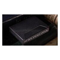 The Expert at the Card Table Playing Cards - Black