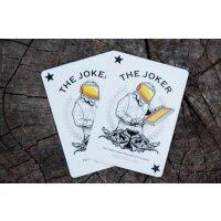 Honeybee Playing Cards Black (V1)