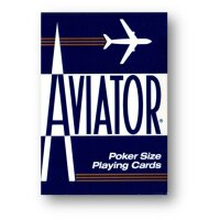 AVIATOR Deck Poker Size BLAU