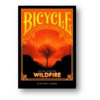 Bicycle Natural Disasters Wildfire Playing Cards