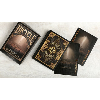 Bicycle - Natural Disasters Playing Cards - Earthquake