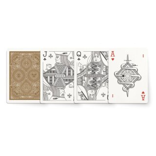 Red Deck of Playing Cards by MISC GOODS