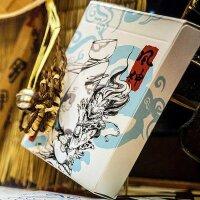 Fujin & Raijin Playing Cards - Blue